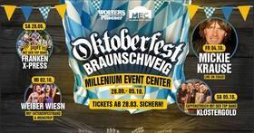 Bild: Oktoberfest Braunschweig - O´zapft is mit der Top Band Franken x-Press