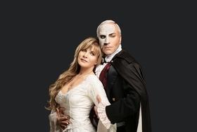 Bild: Das Phantom der Oper mit Deborah Sasson und Uwe Kröger