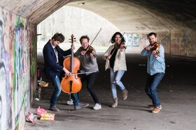 Bild: Feuerbach Quartett - Bombax!