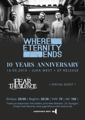 WHERE ETERNITY ENDS - 10 Jahre