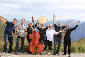 Bild: Nikolaus Jazz mit Walser Sisters + Hammel-Jazzband