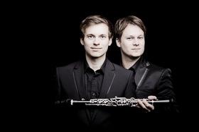 Bild: Duo Sebastian Manz und Martin Klett