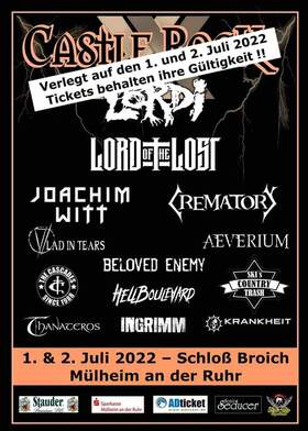 Castle Rock 20 - Tagesticket Freitag