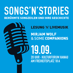 Bild: songs´n´stories - lesung´n´livemusik
