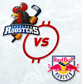 Bild: Iserlohn Roosters - EHC Red Bull München