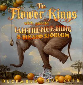 Bild: The Flower Kings with guests IAMTHEMORNING & Rikard Sjöblom - December Tour 2019