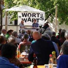 Bild: WortWärts Literaturfest - Open-Air-Lesungen