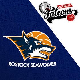 Bild: Rostock Seawolves - Nürnberg Falcons BC
