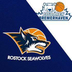 Bild: Rostock Seawolves - Eisbären Bremerhaven