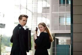 Bild: Schlosskonzert: Duo Julius Schepansky und Anna-Maria Wehrmeyer