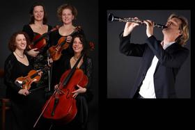 Bild: 2. Kammerkonzert der Saison 2019/20: RUBIN Quartett mit Gast Andy Miles (Klarinette)