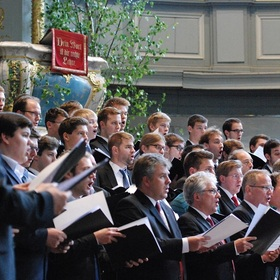 Bild: Monte Soprano Chor / Karl-Friedrich Beringer - Du bist unsere Zuflucht