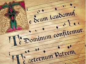Bild: ¡Te Deum? - Werke für Chor und Orgel von Ph. Glass, F. Poulenc, P. Eben, Ch. Ives u.a.