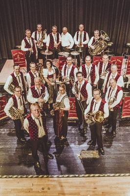 Bild: Peter Schad und seine Oberschwäbischen Dorfmusikanten -