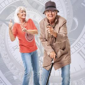 Lebensfreude altert nicht! - Kabarett von und mit Monika Blankenberg