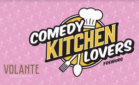 Bild: Comedy Kitchen Lovers - Comedy & Dinner // 3 Gänge Menü & 3 Comedians