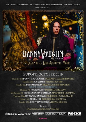 Bild: Danny Vaughn - Myths, Legends & Lies Acoustic Journey 2019 - Myths, Legends & Lies Acoustic Journey 2019