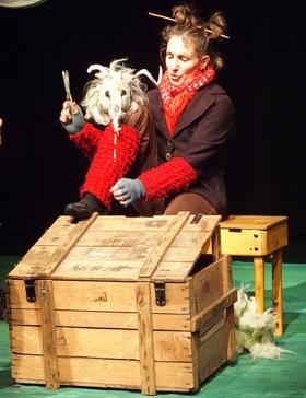 Bild: Arnold - Retter der Schafheit - Theater PATATI-PATATA (4 - 6 Jahre)