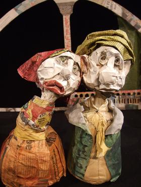 Bild: Ali Baba und die 40 Räuber - marotte Figurentheater in Koproduktion mit dem Tiyatro Diyalog, Karlsruhe (6 - 10 Jahre)