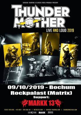 Bild: Thundermother & Markk 13: Live and Load 2019