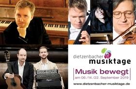 Bild: Dietzenbacher Musiktage 2019 - Festivalticket