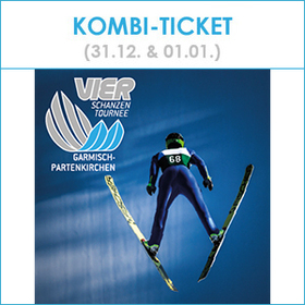 Bild: Kombi-Ticket - Neujahrsskispringen
