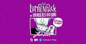 Bild: Das Lumpenpack - und der neue Rest der Band LIVE 2021