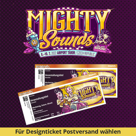 MIGHTY SOUNDS 2021 - 3-Tages-Festival Pass
