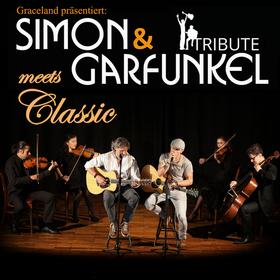 Simon & Garfunkel Tribute meets Classic- Duo Graceland mit Streichquartett & Band
