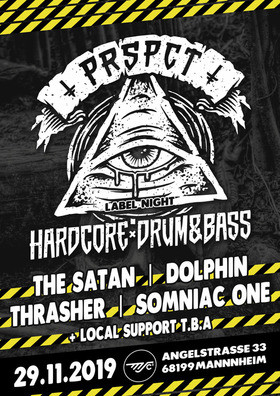 Bild: PRSPCT Label Night - The Satan, Dolphin, Thrasher, Somniac One, + local support