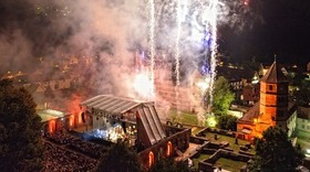 Kloster in Flammen 2021