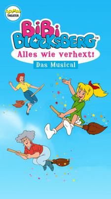 """Bibi Blocksberg """"Alles wie verhext""""-Das Musical - Bibi Blocksberg """"Alles wie verhext""""-Das Musical"""