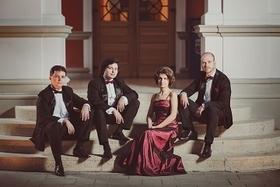 Bild: 1. Konzert: Arcadia Quartet mit Stefan Fehlandt (Viola) und Stephan Forck (Violoncello)