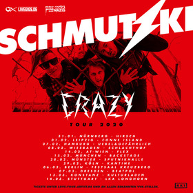 SCHMUTZKI - Crazy Tour 2020 • Support: FUGGER
