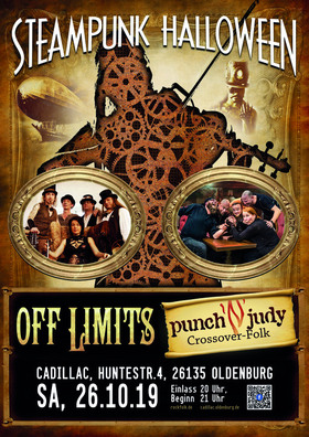 Steam Halloween mit Off Limits & Punch´n Judy