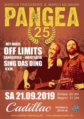 25 Jahre Pangea - Das Jubiläums-Konzert