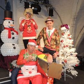 Bild: Die Oderhähne - Weihnachtsfeier-Programm: