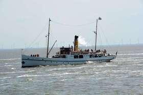 Bild: Fahrt von Emden nach Leer - Prinz Heinrich unter Dampf