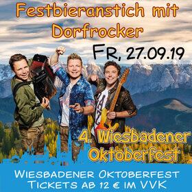 Bild: Festbieranstich mit Dorfrocker - VIP Tickets