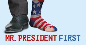 Bild: Mr. President first!