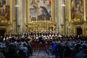Bild: Von der Wolga an den Rhein und weiter zum Tiber - Beethoven und russischer acapella Gesang in Eußerthal