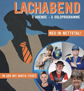 """Bild: LACHABEND-ABO """"5 Shows zum Preis von 4"""""""