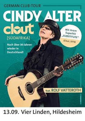 Bild: Cindy Alter - Clout - German Club Tour - Mit ihrem Superhit