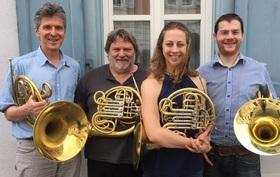 Bild: Dauprat Horn-Quartett mit Werken von Mendelssohn Bartholdy, Dauprat, Rimski-Korsakow