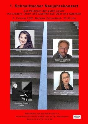 Bild: 1. Schnaittacher Neujahrskonzert - Lieder aus Oper und Operette