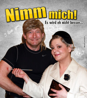 Bild: Kabarett im Volkshaus - Nimm mich! – Es wird eh nicht besser…