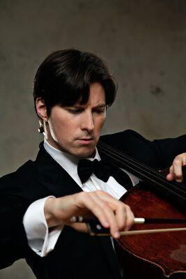 Bild: Württembergisches Kammerorchester Heilbronn und der Cellist Daniel Müller-Schott