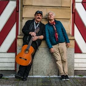 Bild: Mani Neumeier & Werner Goos: Listen to the Rainbow
