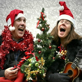 Bild: Beate Lesser & Karl Schramm: Rockin`around the Christmas Tree