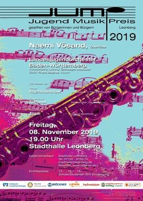 Bild: JUMP - Jugend Musik Preis Leonberg 2019 - Preisträgerkonzert mit dem Landesjugendorchester Baden-Württemberg